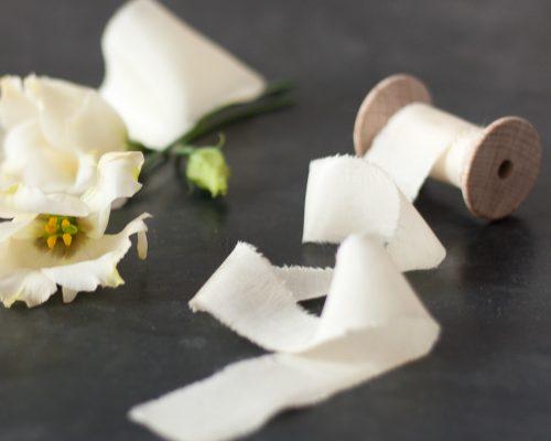 Silk Ribbon, french vanilla