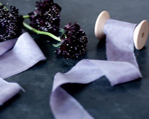 Silk Ribbon, purple