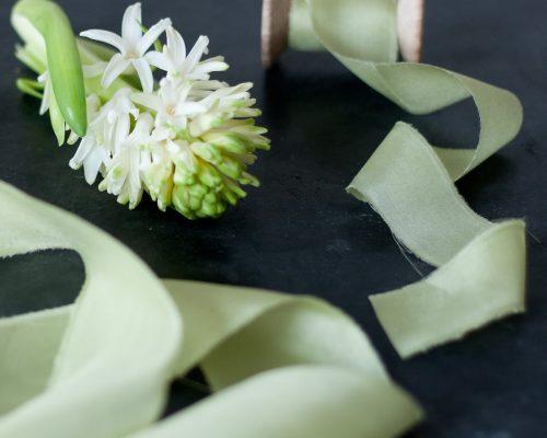 Silk Ribbon, willow